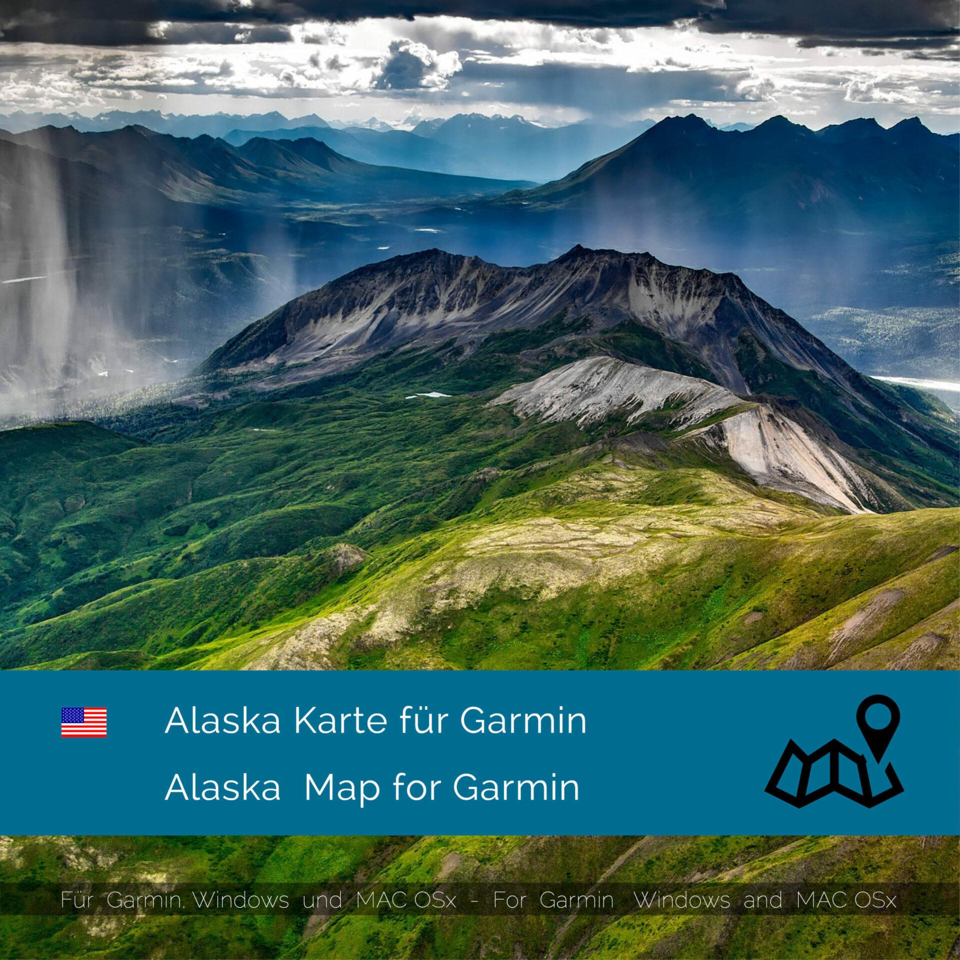 Garmin Us Map Download Alaska (USA)   Download GPS Map for Garmin   Garmin WorldMaps