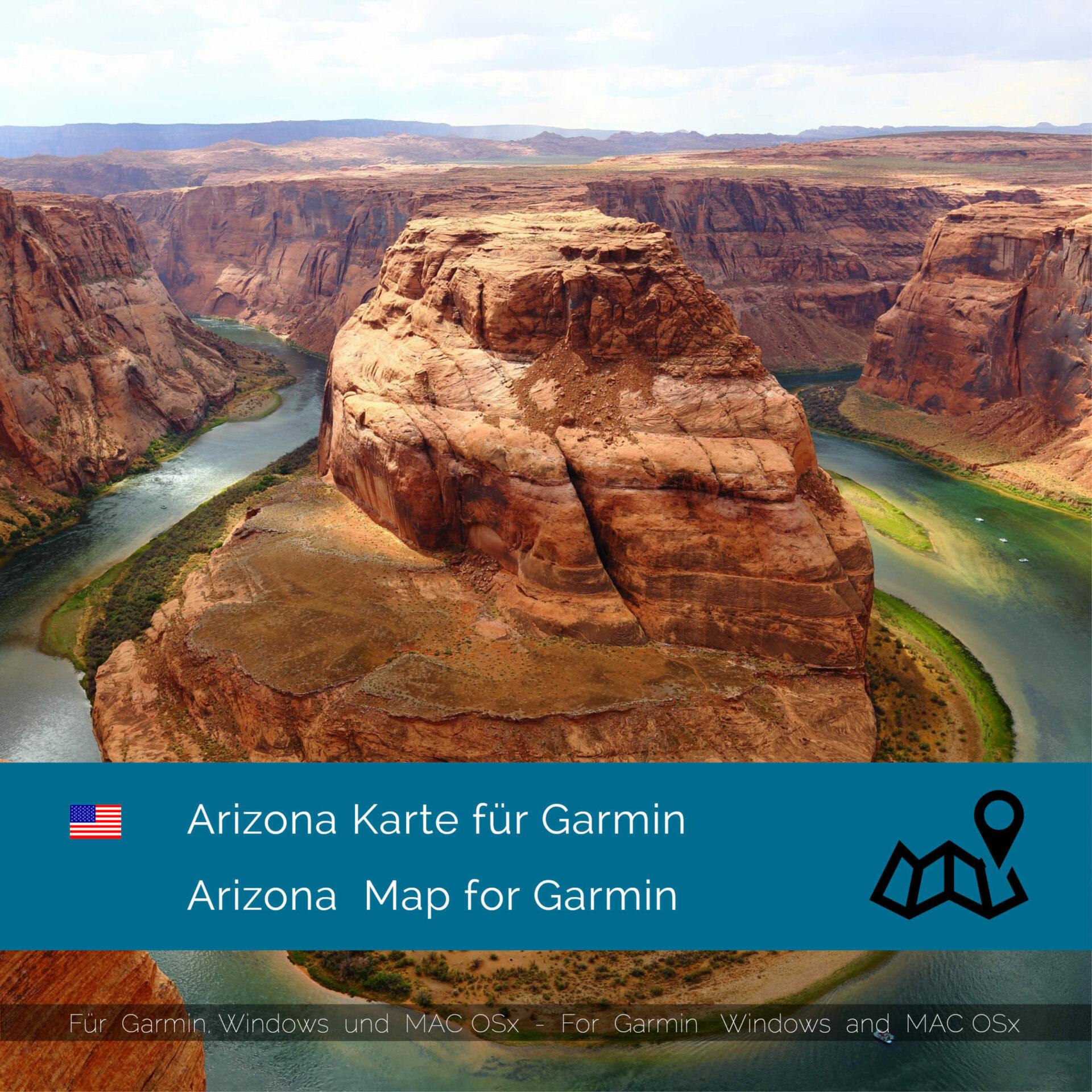 Garmin Us Map Download Arizona (USA)   Download GPS Map for Garmin   Garmin WorldMaps