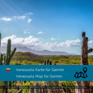 Venezuela - Download GPS Map for Garmin PC & Mac
