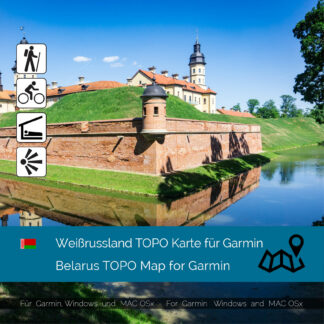 Belarus Download GPS Map for Garmin PC and Mac