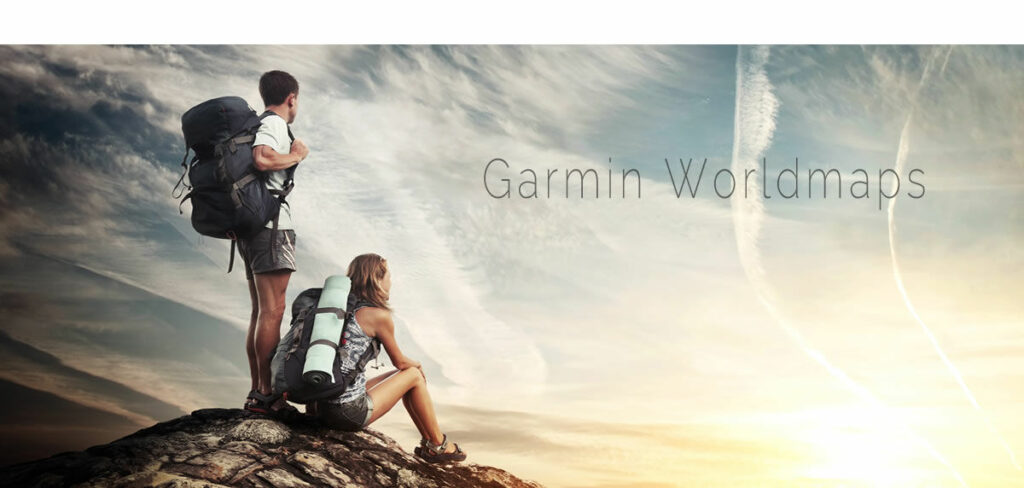 Welcome at Garmin Worldmaps