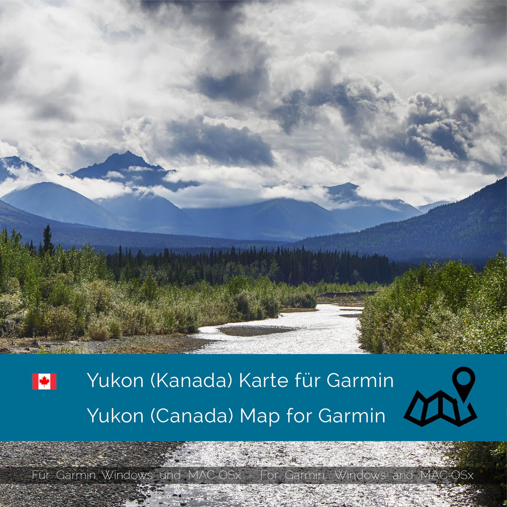 Garmin Canada Map Download Yukon (Canada)   Download GPS Map for Garmin | Garmin WorldMaps