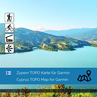 Cyprus - Download GPS Map for Garmin PC & MAC | Garmin WorldMaps